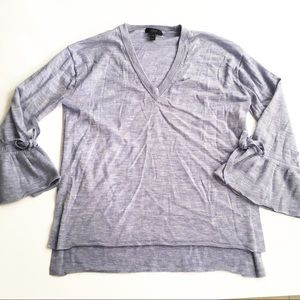 J. Crew bell sleeve sweater sz M